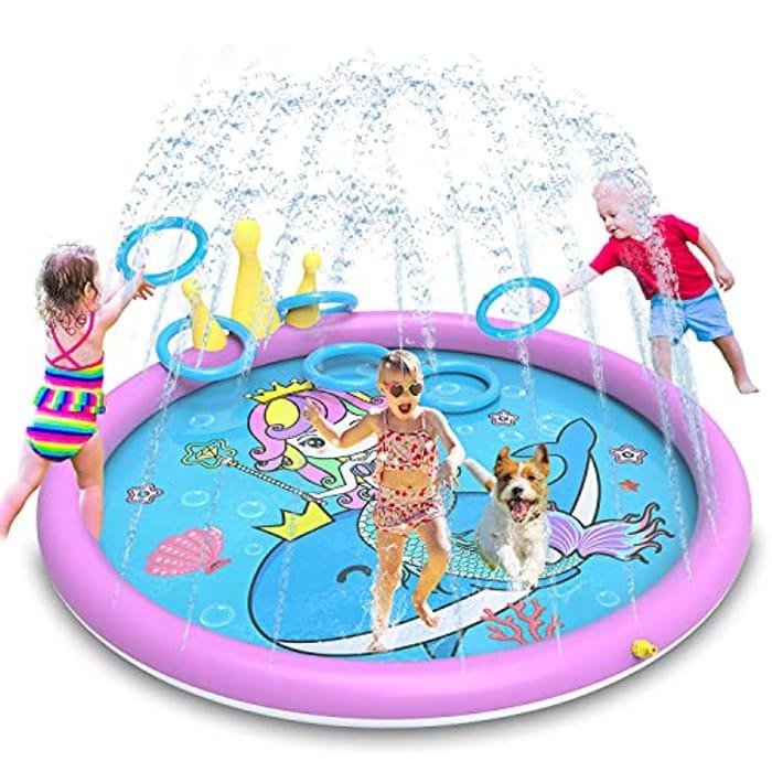 Large Sprinkler Play Mat for Kids - Only £8.50!