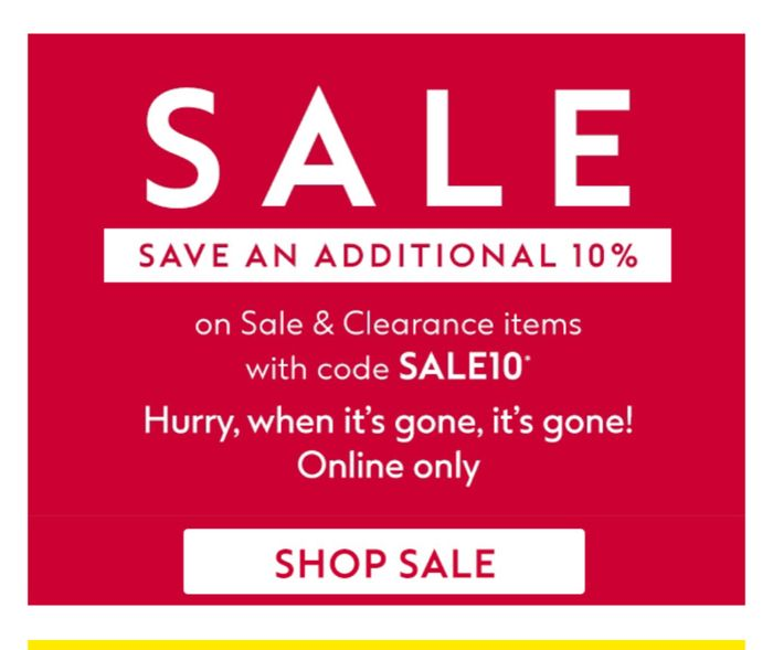 NEW STOCK ADDED :SPRING Sale Limited Stock & Extra 10% on Sale/Clearances