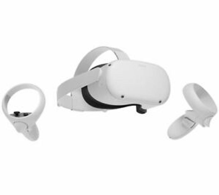 Oculus Quest 2 VR Gaming Headset Touch Controllers 256GB White