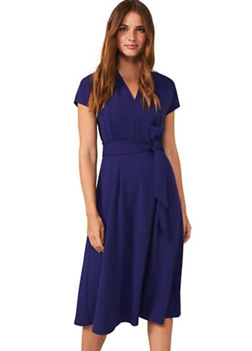 Phase Eight Maretta Pleat Dress (Size 8)