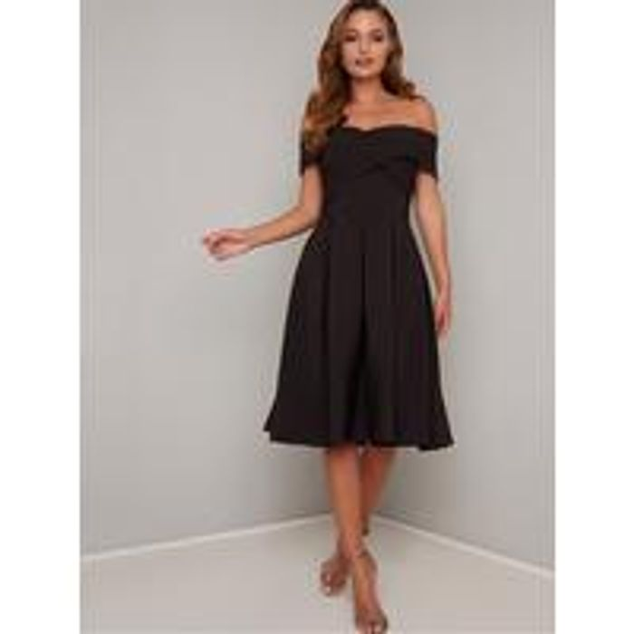 Chi Chi London Sevda Dress - Black