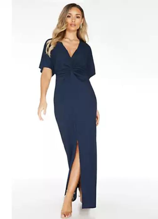 Quiz Navy Maxi Dress