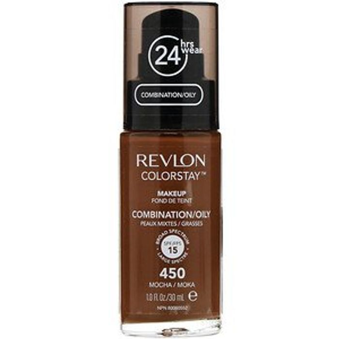 Revlon, Colorstay, Makeup, Combination/Oily, 450 Mocha, 1 Fl Oz (30 Ml)
