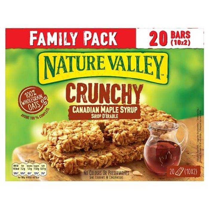 Nature Valley Canadian Maple Syrup 10 Pack