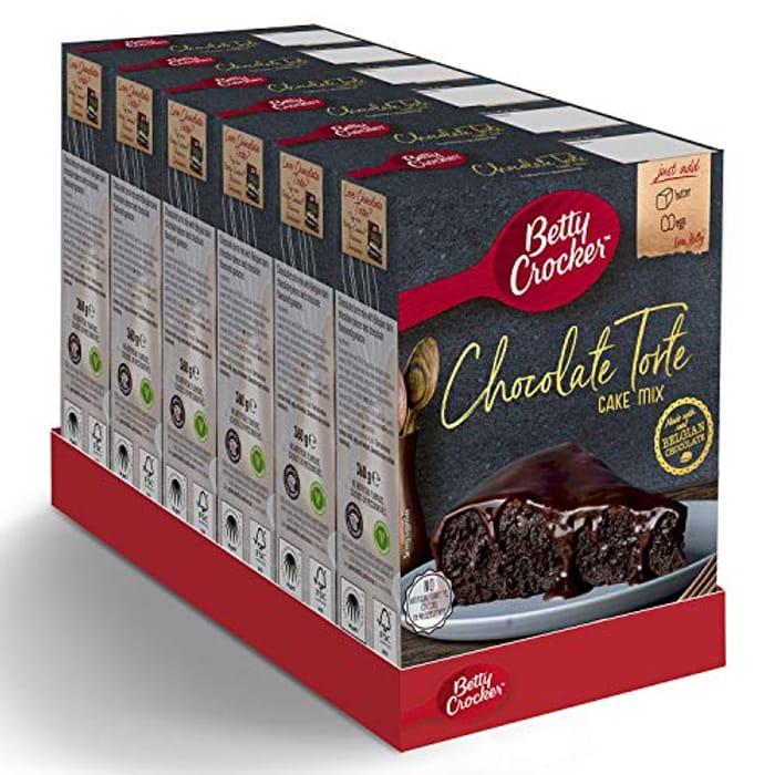 Betty Crocker Chocolate Torte Cake Mix 360g - Only £7.16!