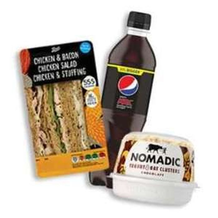 Boots Meal Deal £1 Offer with Advantage Card Instore Only