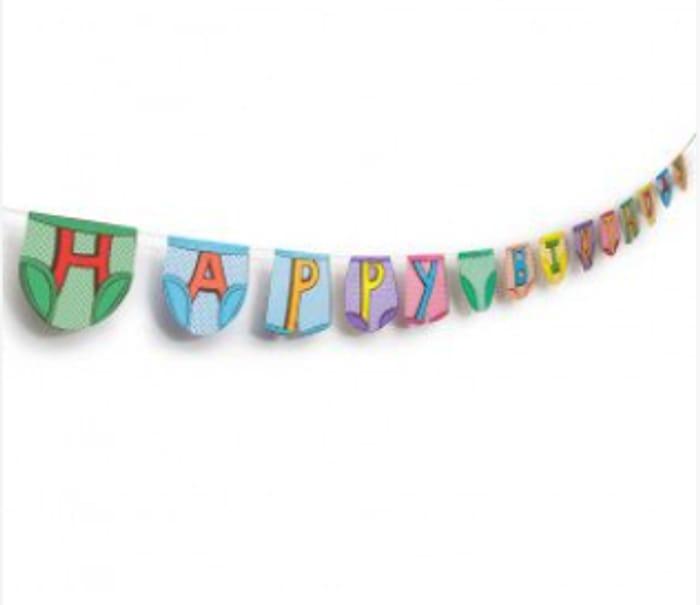 Party Pants Bunting - Happy Birthday