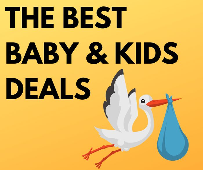 The Best Kids & Baby Deals - Inc. Clothes, Nappies, Shoes & More