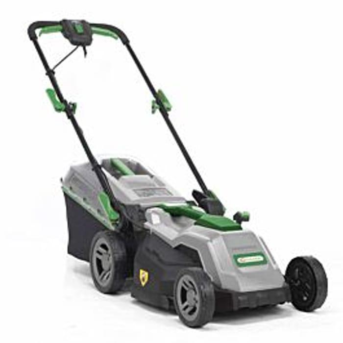 SAVE £50Q Garden 1600w 38cm Electric Rotary Lawnmower