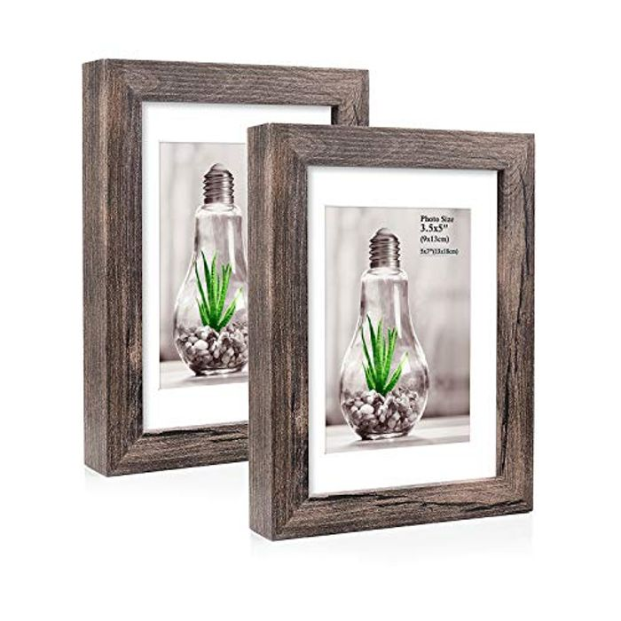 7x5 Inch Photo Frames with Mat