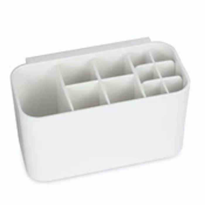 Multi-Compartment Toothbrush Holder