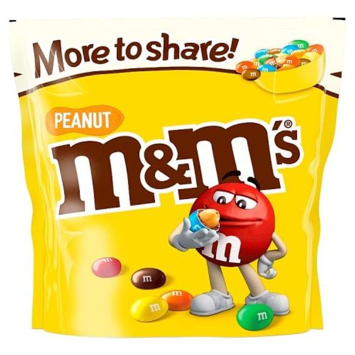M&m's Peanut Large Pouch 268g