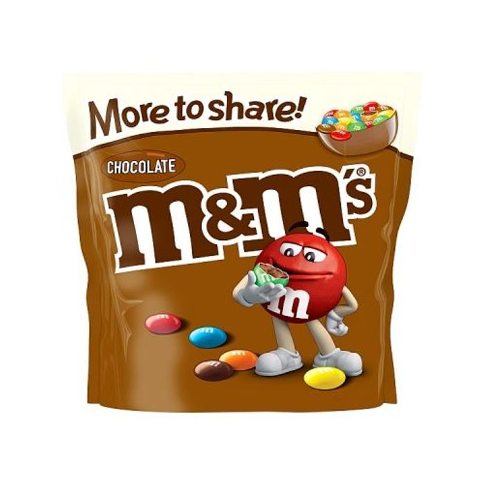 M&m's Chocolate Pouch 250g