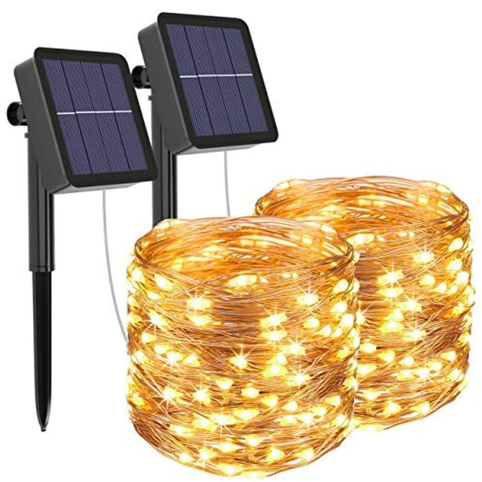 33% off on Solar Fairy Lights