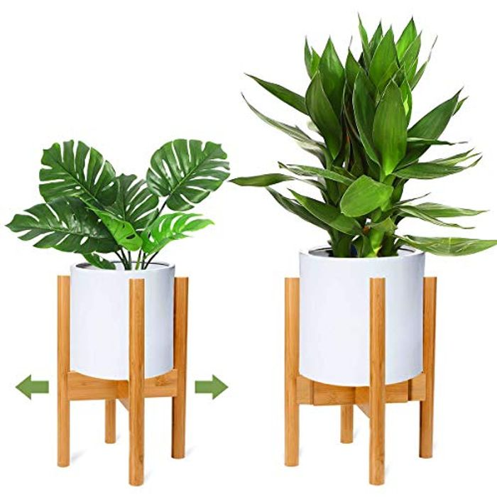DEAL STACK - RIOGOO Retro Modern Expandable Plant Holder, One Pack + 5% Coupon