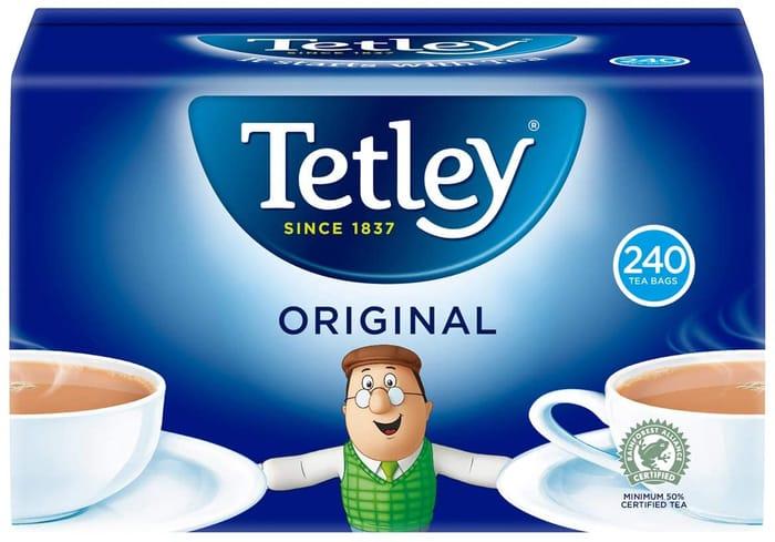 Tetley Original 240 Tea Bags, 750g - Price Drop