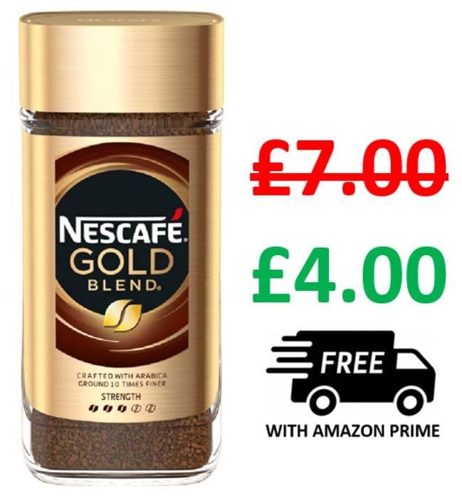 Nescafe Gold Blend Instant Coffee Jar, 200g