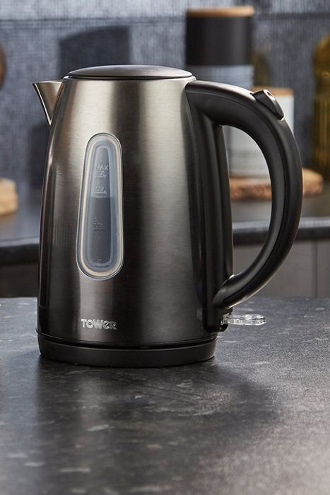 *SAVE £7* Tower Black Ombre Shadow 3000W Kettle