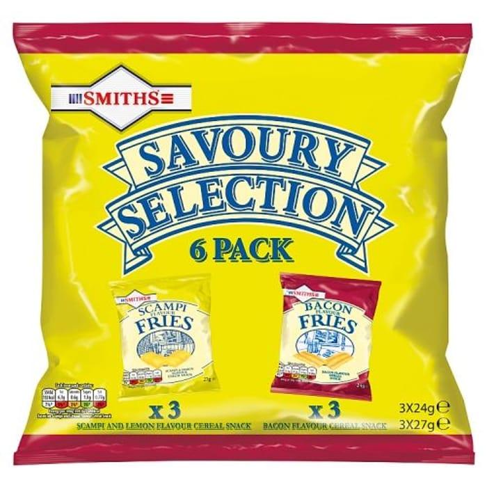 Smiths Savoury Selection 6x25.5g