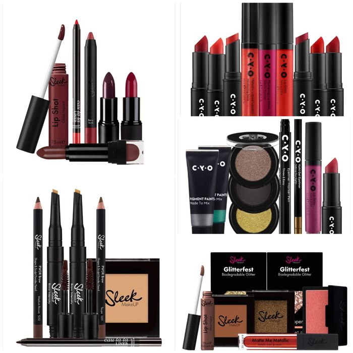 Sleek Brow/Glow/Lip Bundles/CYO Metallic Brights/Mega Red Lip Bundles