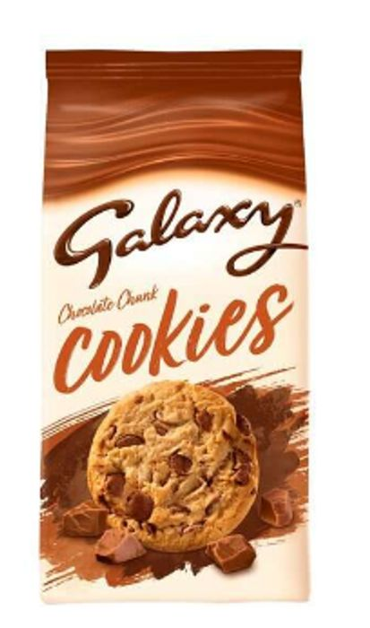 Galaxy Cookies - Clubcard Price - Only - £1!