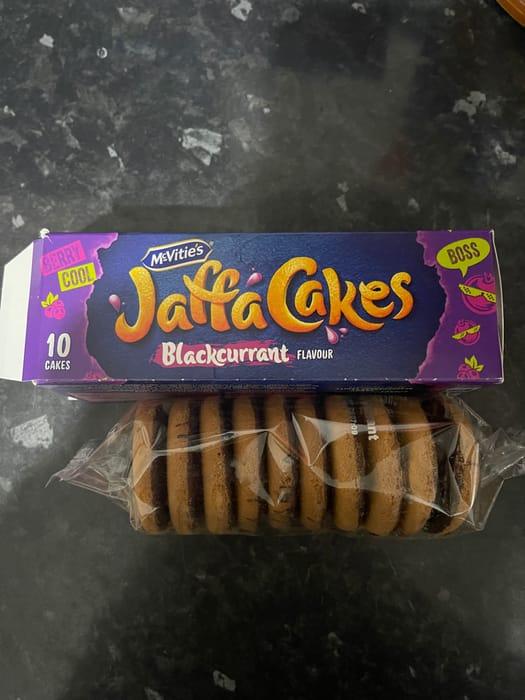 Black Currant Jaffa Cakes