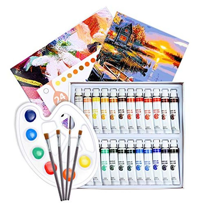 DEAL STACK - ATMOKO Acrylic Paint Set for Beginner or Professional + 10% Coupon