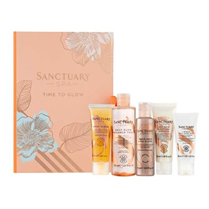 Sanctuary Spa Gift Set, Time to Glow Skincare Set