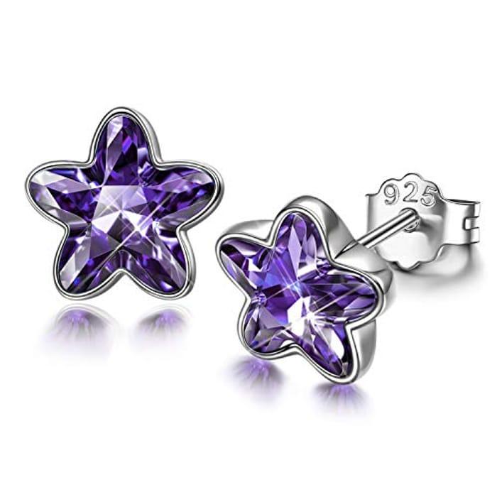 DISSONA 925 Silver Stud Earrings for Women - Only £4.99!
