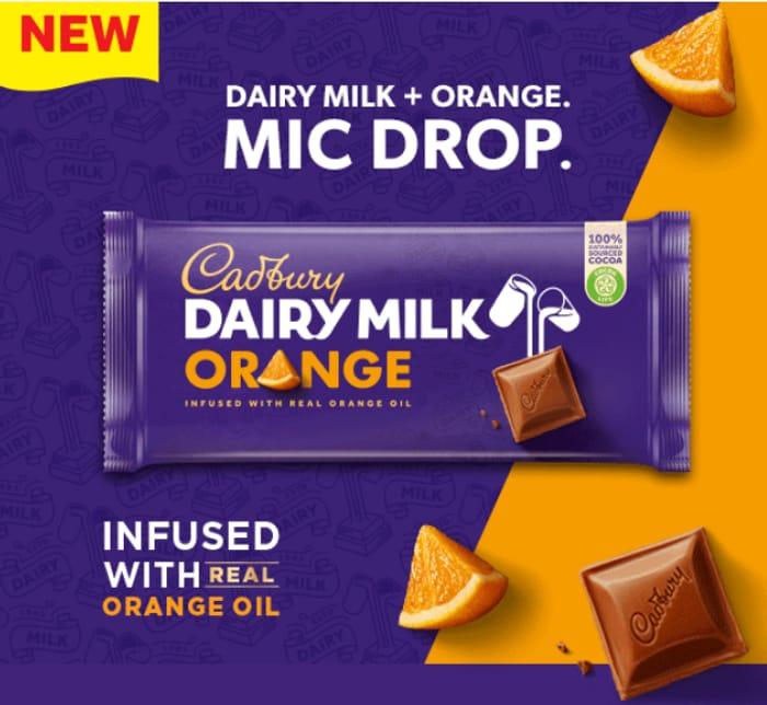 Cadbury Dairy Milk Orange *NEW PRODUCT ALERT!