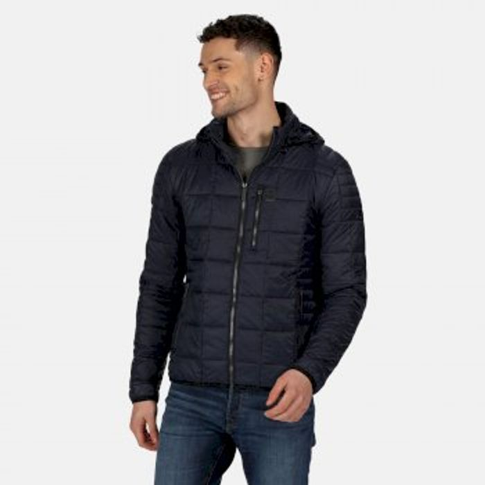 Men's Danar Insulated Quilted Hooded Jacket Navy Now £19.95 at Regatta