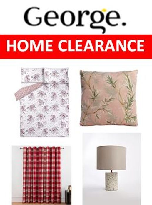 Asda George Home Clearance Sale| Prices from £4