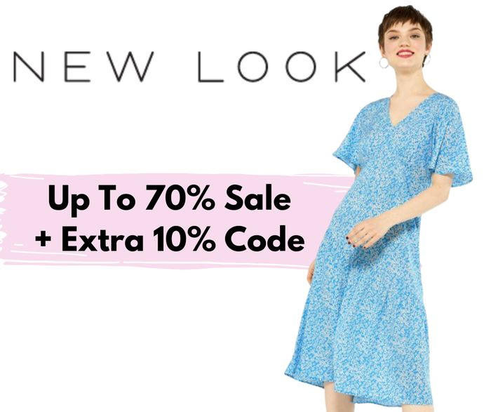 New Look Massive Up to 70% off Sale + Extra 10% off Code