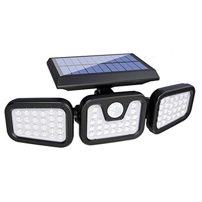 DEAL STACK - Solar Security Floods Lights with Motion Sensor + 10% Coupon