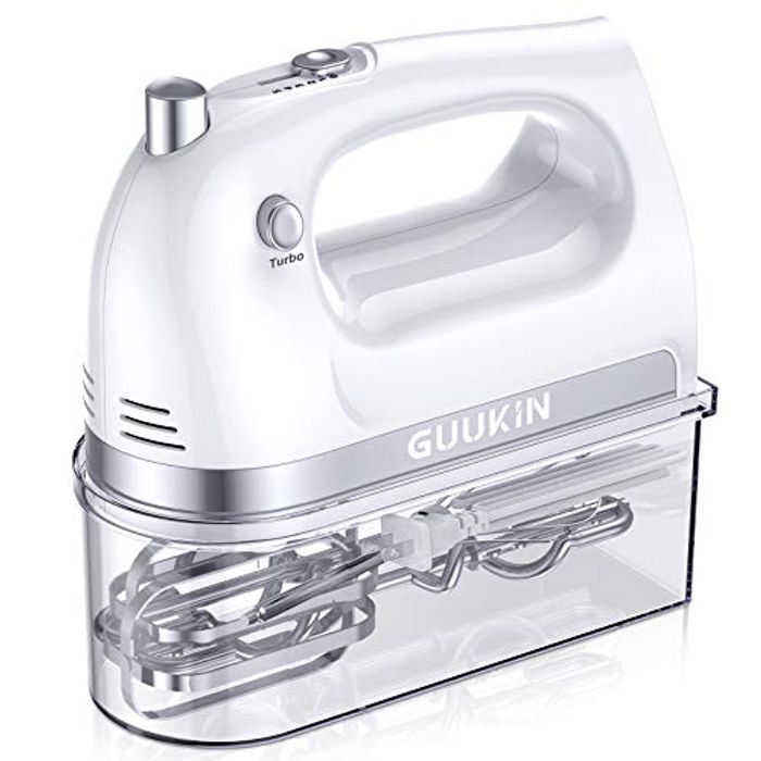 GUUKIN Hand Mixer Electric with Turbo Button - Only £17.49!