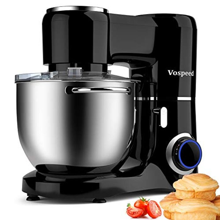 DEAL STACK - Vospeed Stand Mixer 1500W 8L Cake Mixer Electric + £25 Coupon