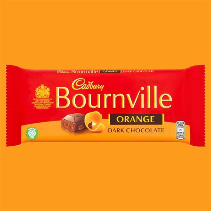 18 X Cadbury Bournville Orange Dark Chocolate