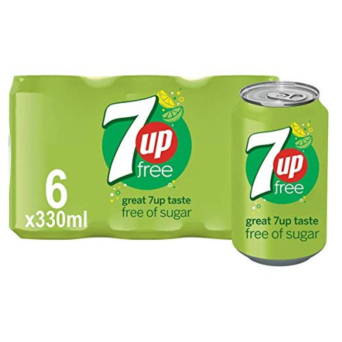 7UP Free - Lemon & Lime Flavoured Fizzy Drink