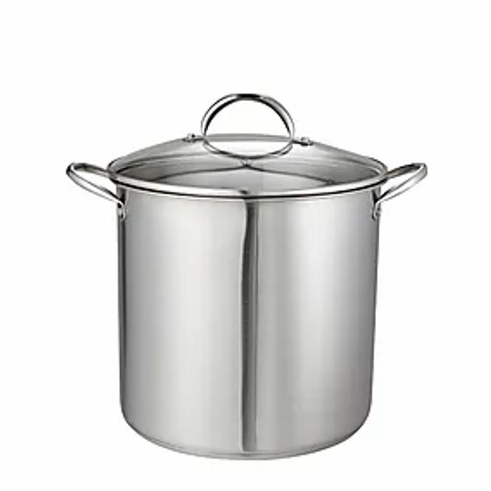 Stainless Steel 14L Stock Pot