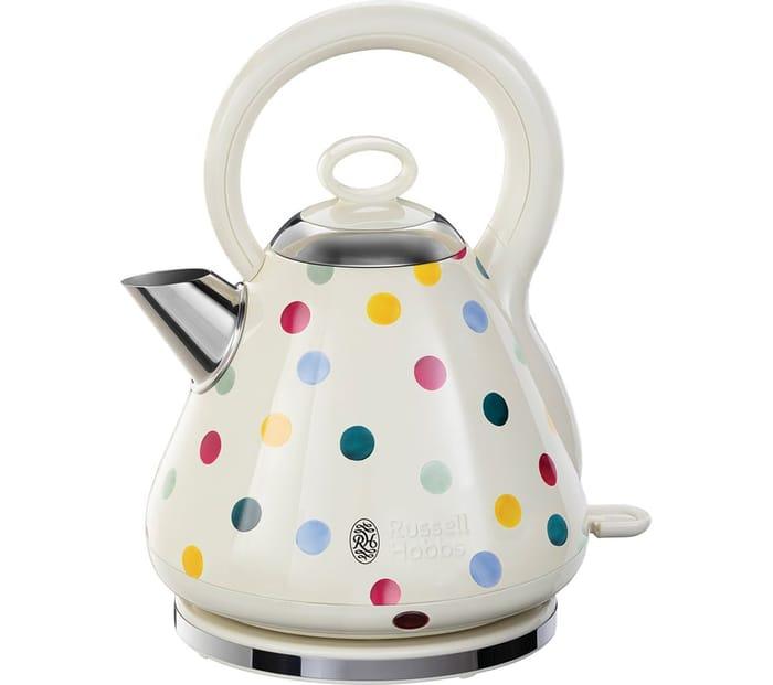 *SAVE £20* RUSSELL HOBBS Emma Bridgewater Polka Dot Traditional Kettle