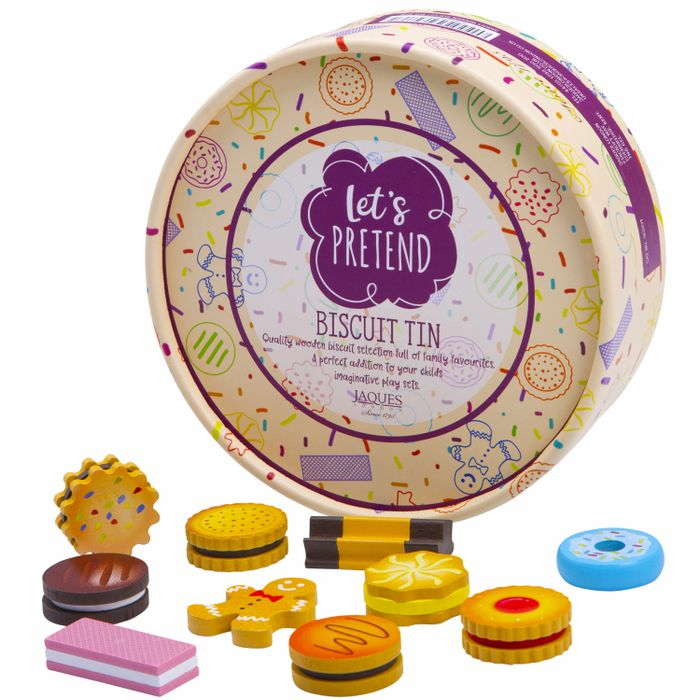 Let's Pretend Biscuit Tin