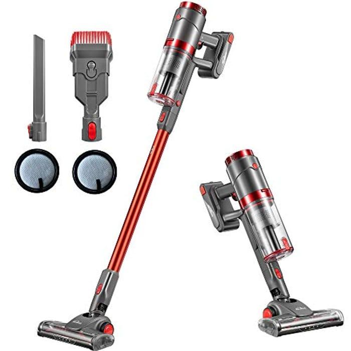 £80 Voucher- Kealive Cordless Stick Vacuum Cleaner