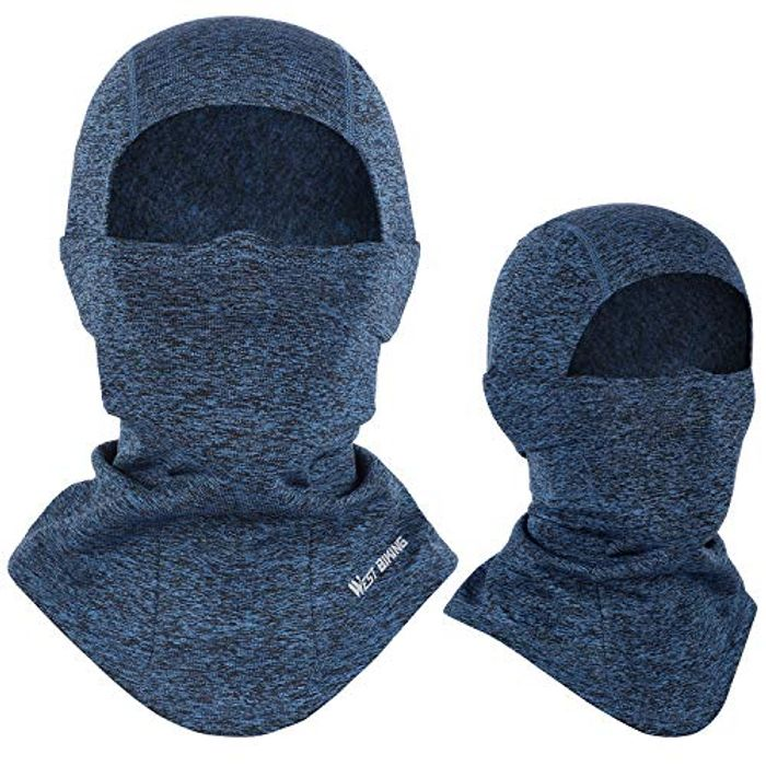 Deal Stack! Balaclava Warm Face Mask + Free Thermal Skull Cap