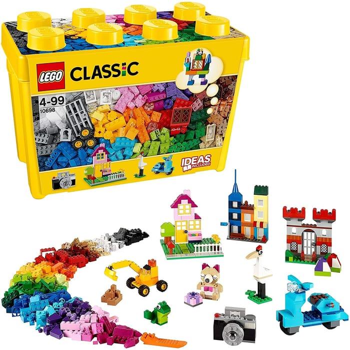 CHEAP! LEGO CLASSIC Large Creative Brick Box 10698