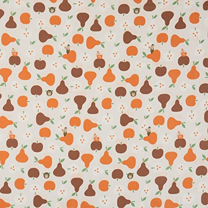 Apple and Pear Vinyl Coated Cotton Easy Wipe Clean Oilcloth Tablecloth