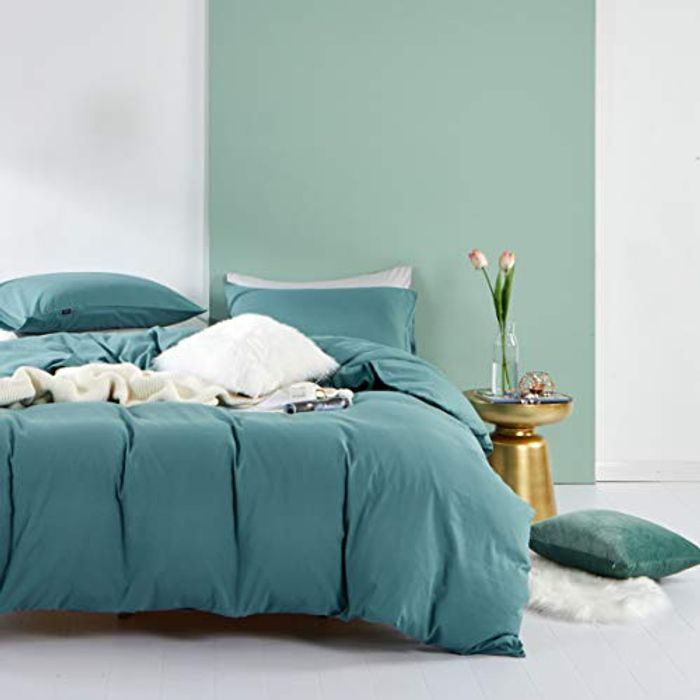 SOULFUL 3 Piece Hypoallergenic Microfibre Bedding Set (Also Available in Double)
