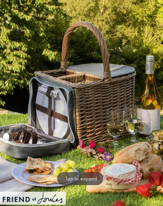 TWO BOTTLE BEACH HAMPER by Silver Editions