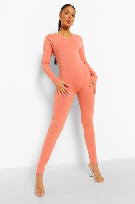 Seamless Long Sleeve Jumpsuit