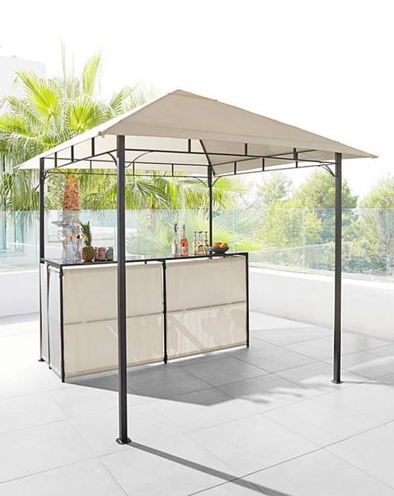 BBQ Bar Gazebo Now £175 Delivered With Code