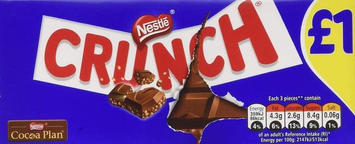 Nestle Crunch Milk 100 G